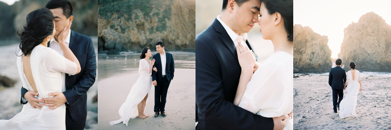 Big Sur Elopement Photographer | Fine Art Film | Winsome and Wright