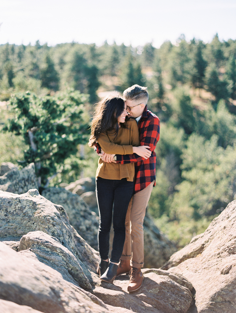 Lost Gulch Lookout Engagement Photos | Boulder Colorado