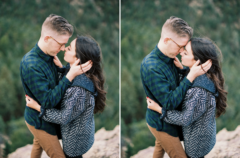 Lost Gulch Lookout Engagement Photos | Boulder Colorado | Winsome and Wright