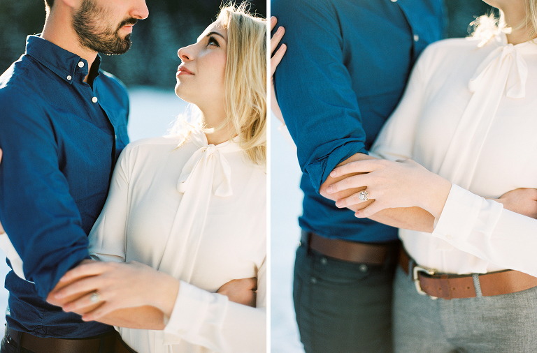Rocky Mountain National Park Engagement | Fine Art Film | Winsome and Wright