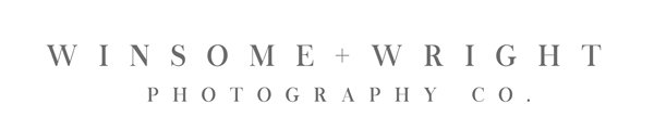 Fort Collins Wedding Photographer | Winsome and Wright Photography Co. logo