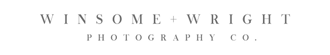 Fort Collins Wedding Photographer | Winsome and Wright logo